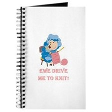 Ewe Drive Me to Knit Journal