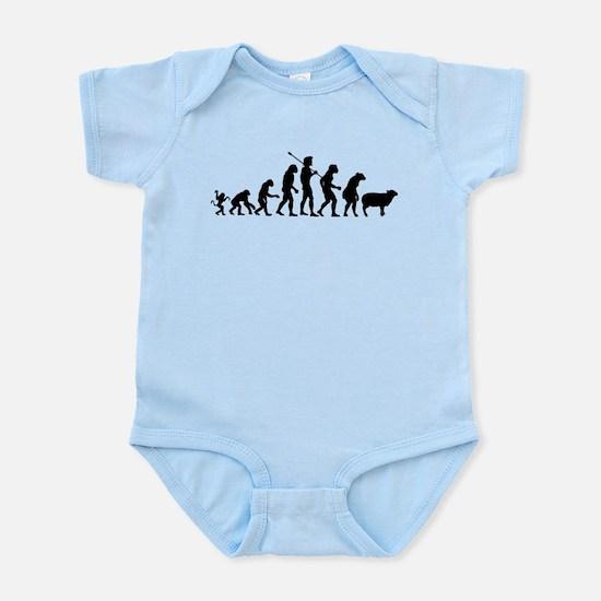 Evolution of Sheeple Infant Bodysuit