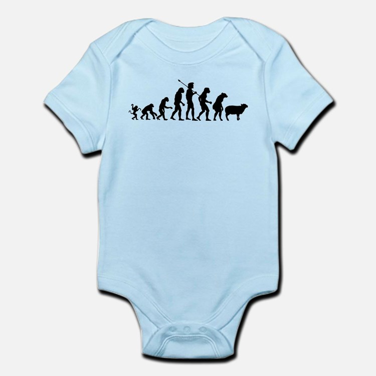 Evolution of Sheeple Infant Bodysuit