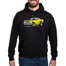 1970 Roadrunner Yellow-Black Car Hoodie