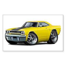 1970 Roadrunner Yellow-Black Car Decal