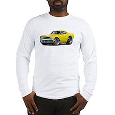 1970 Roadrunner Yellow Car Long Sleeve T-Shirt