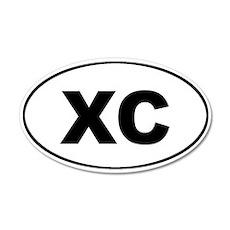 XC Cross Country Euro 20x12 Oval Wall Peel