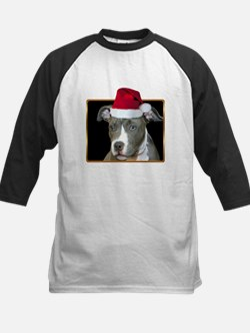 Christmas Pitbull Pup Tee