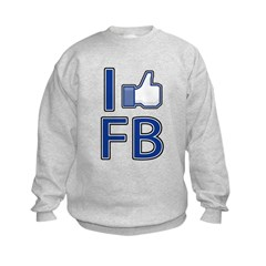 Like facebook Sweatshirt