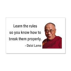 Dalai Lama 11 20x12 Wall Peel