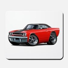 1970 Roadrunner Red Car Mousepad