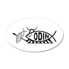 Odin Fish 20x12 Oval Wall Peel