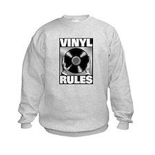 Funny Vinyl Sweatshirt