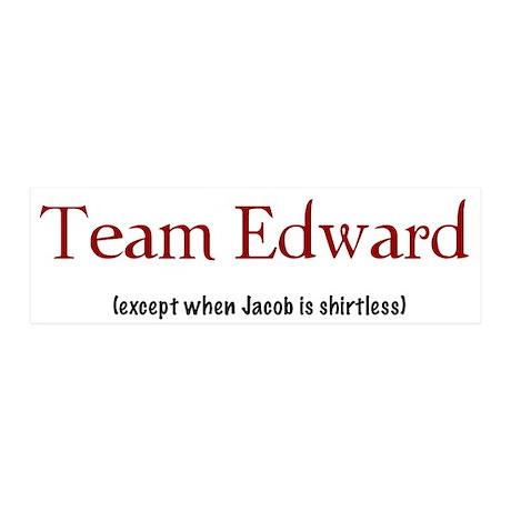 Team Edward (except...) 20x6 Wall Peel