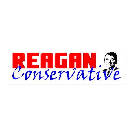 """Reagan Conservative"" 20x6 Wall Peel"