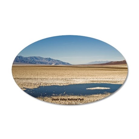 Death Valley 20x12 Oval Wall Peel