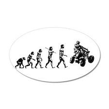 QUAD EVOLUTION 20x12 Oval Wall Peel