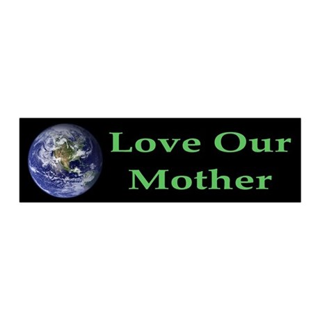 Love Our Mother Earth 20x6 Wall Peel