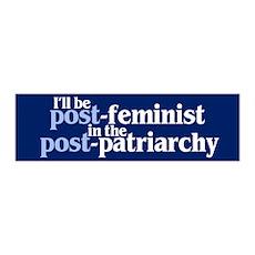 POST-FEMINIST 36x11 Wall Peel