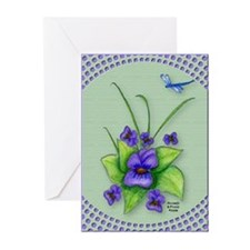 Violet Birthday Cards (Pk of 10)