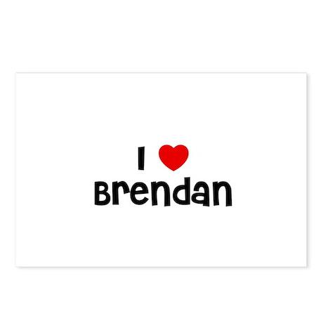 I * Brendan Postcards (Package of 8)