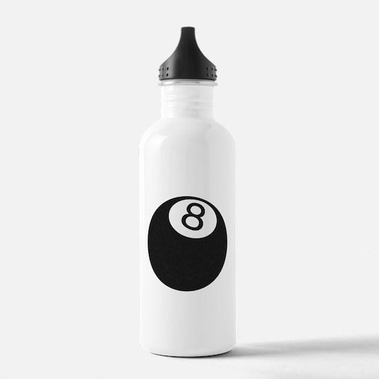 Riyah-Li Designs 8 Ball Water Bottle