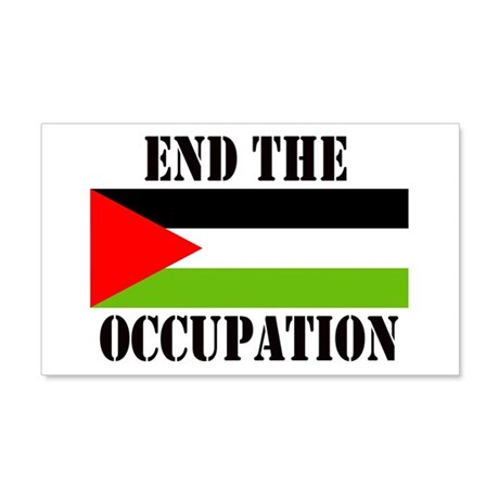 End the Occupation - Sticker (Rect.)