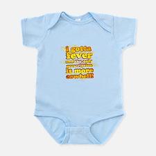 More Cowbell Infant Bodysuit
