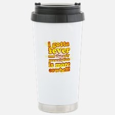 More Cowbell Stainless Steel Travel Mug