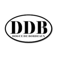 DDB Abbreviation Dog de Bordeaux Sticker