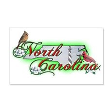 North Carolina 20x12 Wall Peel