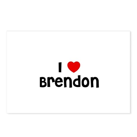 I * Brendon Postcards (Package of 8)