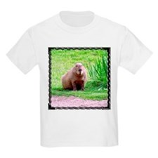 Capybara Looking Forward Kids T-Shirt