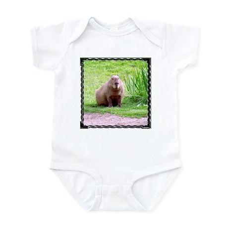 Capybara Looking Forward Infant Creeper