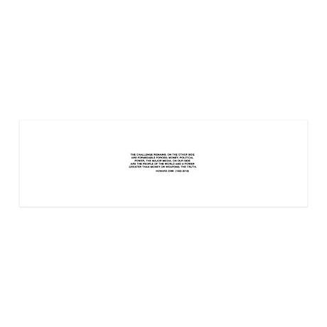 Howard Zinn 36x11 Wall Peel