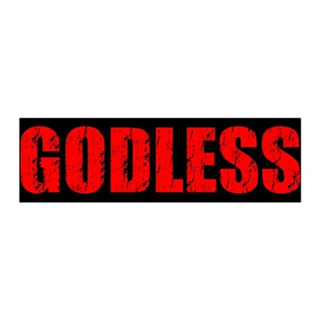 Godless 36x11 Wall Peel