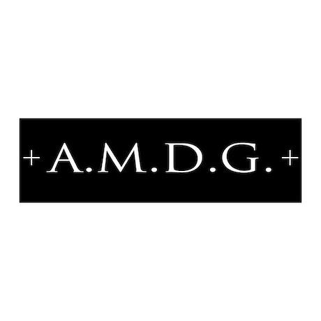 +AMDG+ (black)