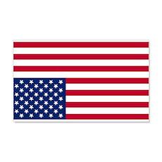 Inverted American Flag (Distress Signal) Sticker (