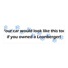 Your Car Leonberger 36x11 Wall Peel