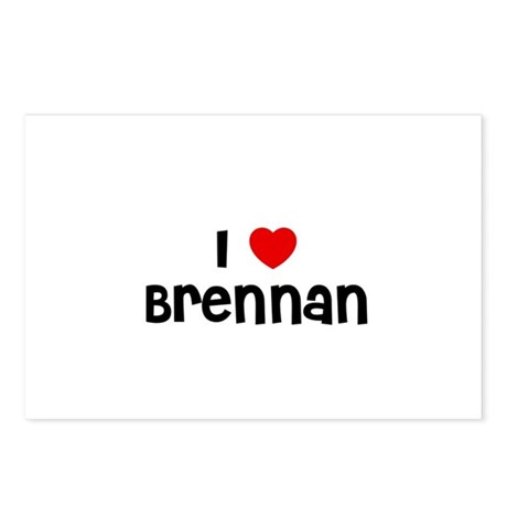 I * Brennan Postcards (Package of 8)
