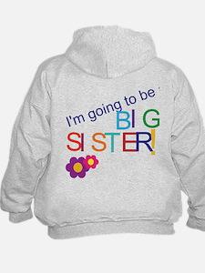 Funny Big sister again Hoodie