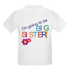 Unique I'm going to be a big sister T-Shirt