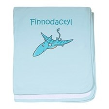 Finnodactyl baby blanket