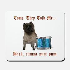 Little Drummer Cairn Mousepad