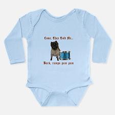 Little Drummer Cairn Long Sleeve Infant Bodysuit