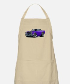 1970 Roadrunner Purple-Black Car Apron