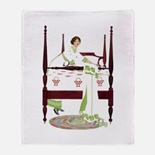 Home Sweet Home By Coles Phillips Throw Blanket