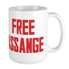Free Assange Mug