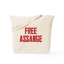Free Assange Tote Bag