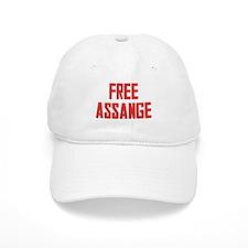 Free Assange Baseball Cap