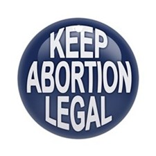 Keep Abortion Legal Ornament (Round)
