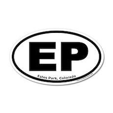 Estes Park, Colorado EP 20x12 Oval Wall Peel