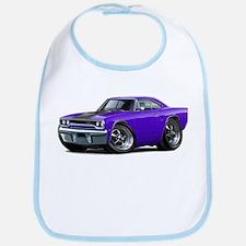 1970 Roadrunner Purple-Black Car Bib