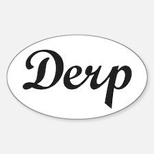 Derp Decal
